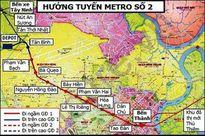TPHCM kiến nghị lùi thời gian thực hiện metro số 2 đến năm 2020