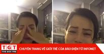 Vợ Xuân Bắc suy sụp tố cáo Trường Cao đẳng Văn hóa Nghệ thuật Hà Nội và NSND Anh Tú trong 'tức tưởi nước mắt'