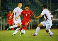 U18 Việt Nam 1-2 U18 Myanmar (Giải U18 Đông Nam Á 2017)