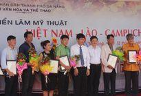 Triển lãm mỹ thuật Việt Nam - Lào - Campuchia