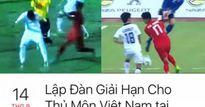 CĐV lập đàn cúng giải hạn cho… thủ môn Việt Nam