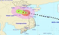Chiều tối nay bão đổ bộ đất liền Hà Tĩnh - Quảng Trị, nhiều tỉnh mưa rất to