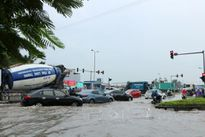 Mưa to, nước dâng gây ngập lụt nhiều nơi ở Hải Phòng