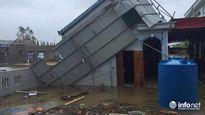 Bão số 10 càn quét dữ dội, các tỉnh miền Trung tan hoang sau bão