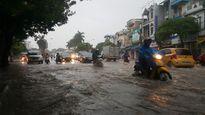 Hải Phòng ngập lụt vì mưa lớn sau bão số 10