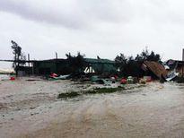 Ảnh hưởng của hoàn lưu bão số 10, Nghệ An-Quảng Ngãi mưa rất to, nước lũ lên nhanh