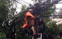FPT Telecom khôi phục cáp quang bị đứt gây mất tín hiệu Internet