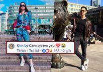 Kim Lý đi giày đôi, cùng đến Na Uy và gọi Hồ Ngọc Hà là 'em yêu'