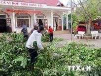 Khắc phục khó khăn, sớm đưa học sinh trở lại trường sau bão