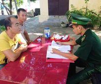 Xử phạt 2 người Trung Quốc vào khu vực biên giới trái phép