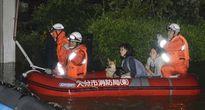 Bão Talim càn quét Nhật Bản khiến 40 người thương vong