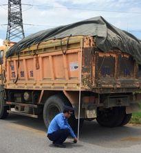 Nghệ An: Mạnh tay xử lý xe tải vi phạm trên đường Hồ Chí Minh