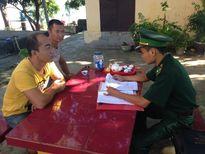 Phạt 2 người Trung Quốc vào khu vực biên giới trái phép