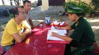 Xử phạt 2 đối tượng người Trung Quốc vào khu vực biên giới trái phép