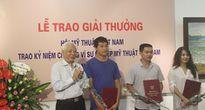 Trao giải thưởng Hội Mỹ thuật Việt Nam năm 2017