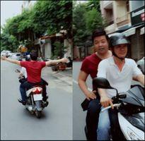 Sao Việt và những ứng xử khác biệt khi tham gia giao thông