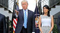 Đại sứ Mỹ Nikki Haley-người lay chuyển được cả Tổng thống Donald Trump