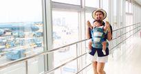 Mẹ 8X mê du lịch đưa con đi chơi xa từ 2 tháng tuổi