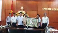 Bộ trưởng Bộ TT&TT Trương Minh Tuấn làm việc tại tỉnh Đắk Nông
