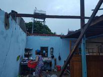 Lâm Đồng: Mưa kèm lốc xoáy 4 người bị thương, 20 ngôi nhà bị tốc mái