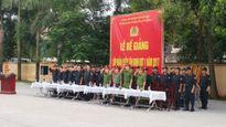 Bế giảng lớp huấn luyện tân binh cho Trung đoàn Cảnh sát Cơ động