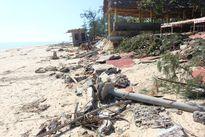 Một trong 10 bãi biển đẹp nhất Việt Nam bị sạt lở nghiêm trọng