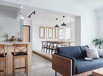 Căn hộ 90 m2 rải sỏi, treo xích đu của cặp vợ chồng mới cưới