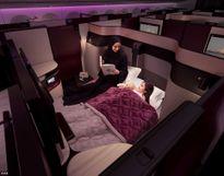 Hãng hàng không đầu tiên có giường đôi trong khoang hạng thương gia