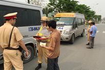 Hà Nội: 20 xe khách bị đình tài vì mắc nhiều lỗi vi phạm