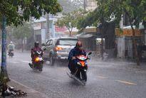 Thời tiết hôm nay: Tây Nguyên và Nam Bộ có mưa rào và dông