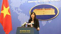 Việt Nam lên tiếng về việc Úc tập trận tại Biển Đông