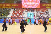 Ba Đình, Hà Đông sôi động Lễ khai mạc Đại hội TDTT 2017