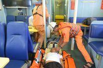 Ngạt khí ga, ba thuyền viên nguy kịch trên biển