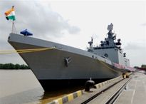 Hai tàu chiến Hải quân Ấn Độ thăm Hải Phòng