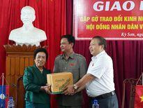 Ủy ban Dân tộc Quốc hội Lào thăm, làm việc tại Kỳ Sơn