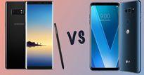 Màn hình POLED trên LG V30 và AMOLED của Galaxy Note 8 khác nhau thế nào?