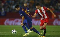 Video bàn thắng Girona vs Barca: Chủ nhà dâng 3 điểm, Suarez giải hạn