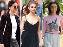 Ngắm gu thời trang dạo phố của Selena Gomez