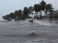 Tin áp thấp nhiệt đới mới nhất: Vùng biển Quảng Ninh - Hải Phòng gió mạnh cấp 6-7