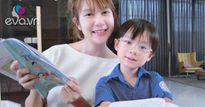 Hot mom Minh Hà dạy con kiến thức dinh dưỡng bằng thơ