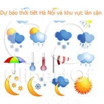 Dự báo thời tiết đêm 25 ngày 26/9/2017 khu vực Hà Nội và các vùng lân cận