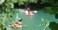 Trải nghiệm đu dây zipline ở sông Chày