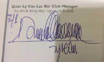 Những mẫu chữ ký 'bá đạo' nhất Việt Nam