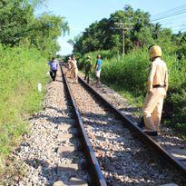Quảng Nam: Người phụ nữ tử vong sau khi bị tàu hỏa kéo lê 50m