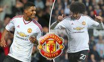 Fellaini và Rashford được Mourinho tưởng thưởng