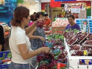 Kim ngạch nhập khẩu rau quả tăng đột biến trong nửa đầu năm