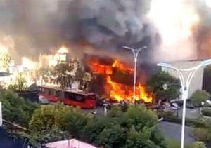 Trung Quốc: Nổ khí gas kinh hoàng, 2 người chết, 55 người bị thương