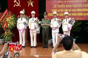 Thành lập đội CSGT đường sắt Hà Nội