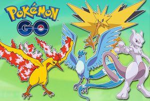 Pokémon huyền thoại sẽ đến trong bản cập nhật của Pokémon GO