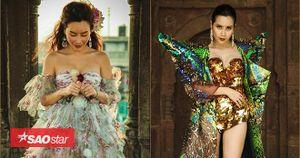 Lưu Hương Giang mang… 50 kg trang phục tới Ấn Độ quay MV cùng địa điểm với Beyonce